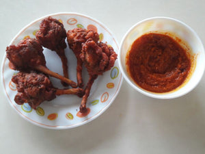 Chicken Lollipop (5 pcs) with Schzewan Sauce -  - Homely - By Anju Singh