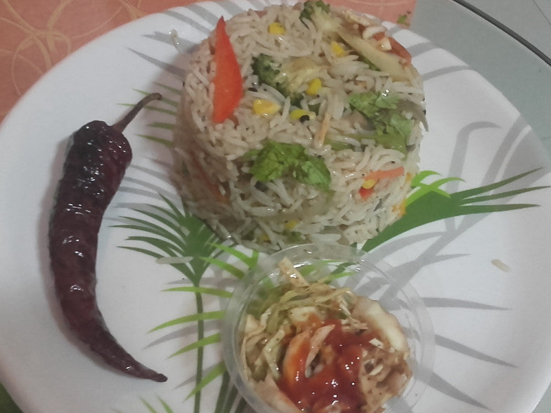 Mix Veg Smoked Fried Rice -  - Homely - By Ashok Thakur
