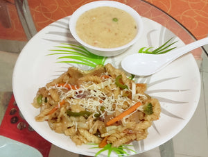 Cheezee  Macaroni With Veggie Oat Soup -  - Homely - By Ashok Thakur
