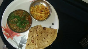 Misal with Chapati or Pav