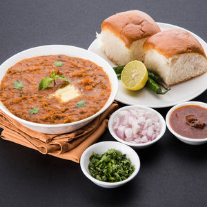 Pav Bhaji with Butter Pav(3) & Kheer