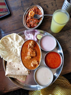 Malwani Chicken Meal with Dessert