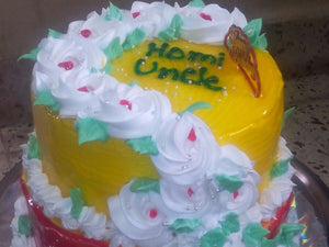 Cakes by Prajakta Gandhi (Eggless) - Pineapple Cake / 1 / 2 Kg - Homely - By Prajakta Gandhi - 8