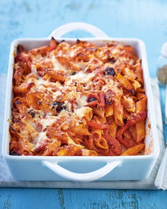 Red Pasta with Cheese