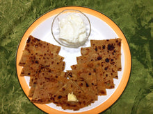Aloo Pyaaz Paratha (3) with Curd -  - Homely - By Rekha Singla - 1