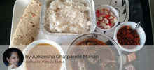 Bharva Baingan, Dal Fry, Steamed Rice, Chapatis, Salad, Lehsun Chutney, Homemade Chocolate -  - Homely - By Aakansha Ghatpande Manan - 1