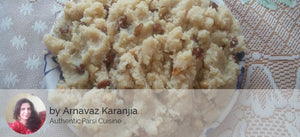 Authentic Parsi Sweet Rava (200 ML) -  - Homely - By Arnavaz Karanjia