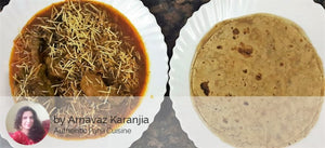 Authentic Parsi Sali Chicken with Chapati and Salad -  - Homely - By Arnavaz Karanjia