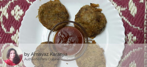 Authentic Parsi Chicken, Mutton and Prawns Dishes by Arnavaz Karanjia - Mutton Cutlets (4 pcs) with Tomato Sauce - Homely - By Arnavaz Karanjia - 2