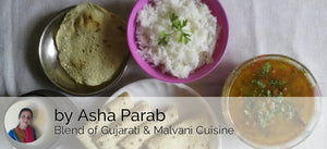 Mixed Sprout Rassa Sabji, Steamed Rice, Chapati (4), Papad & Buttermilk -  - Homely - By Asha Parab