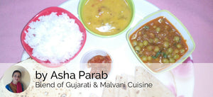 Green Vatana Sabji with Chapati, Dalfry, Rice, Pickle & Papad -  - Homely - By Asha Parab