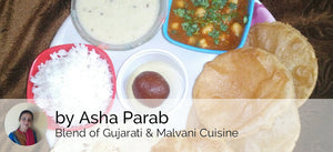 Chole Puri, Gujrati Kadhi, Rice, Papad & Gulab Jamun -  - Homely - By Asha Parab