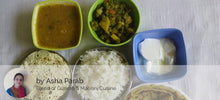Aloo Parathas with Beans ki Sabji, Spicy Dal, Papad and Curd -  - Homely - By Asha Parab - 2