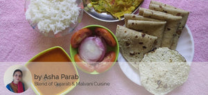 Tomato Curry with Rice, Chapati, Salad, Papad and Egg Omlet (2 Eggs) -  - Homely - By Asha Parab - 1