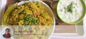 Veg Pulao with Boondi Raita & Roasted Papad
