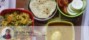 Egg Curry with Veg Pulao, Papad & Salad -  - Homely - By Asha Parab