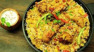Chicken Dum Biryani with Raita - 1 Kg