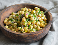 Homely Greens:  Chickpea Tapas