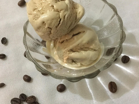 Coffee and nuts Ice-cream