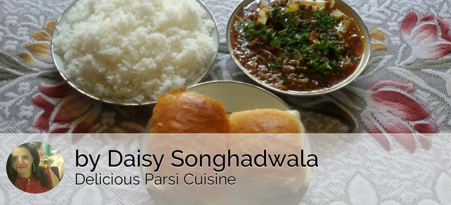 Mutton Kheema with Rice, Pav(2) & Surprise Sweet -  - Homely - By Daisy Songhadwala