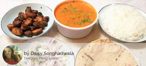 Shark Fish Curry, Fry Shark, Chapatis (3), Rice, Salad and Sweet -  - Homely - By Daisy Songhadwala