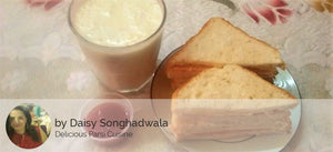 Chicken Ham & Cheese Sandwich (2 nos), Ketchup, Banana Milk Shake -  - Homely - By Daisy Songhadwala - 1