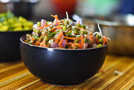 Homely Greens: Moong Sprouts Salad