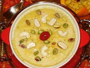Desserts & Sweets by Prachi Mishra - Shaahi Phirni - Kesar Dry Fruit Kheer (Rice Based) (300 ML) - Homely - By Prachi Mishra - 1