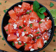 Homely Greens: Watermelon-Feta Salad