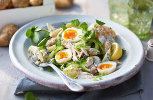Homely Greens: Salted Mackerel Salad