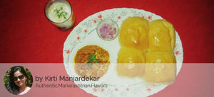 Pav Bhaji with Onion, Lime and Masala Chaas -  - Homely - By Kirti Manjardekar - 1