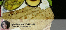 Potato Masala, Plain Paratha with Pear pecan Muffins -  - Homely - By Maheswari Dukkipati - 3