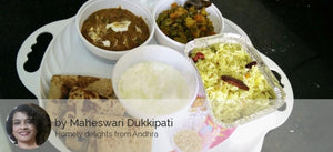 Dal Makhani, Dry Mixed Vegetables, Roti, Mango Rice and Curd -  - Homely - By Maheswari Dukkipati
