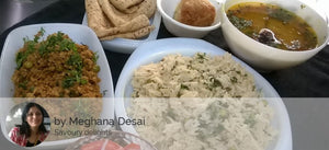Chicken Kheema, Chapatis, Corn Rice, Dal, Salad, cupcake (eggless) -  - Homely - By Meghana Desai - 3