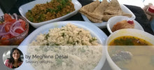 Chicken Kheema, Chapatis, Corn Rice, Dal, Salad, cupcake (eggless) -  - Homely - By Meghana Desai - 1