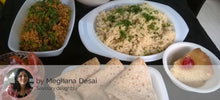 Chicken Kheema, Chapatis, Corn Rice, Dal, Salad, cupcake (eggless) -  - Homely - By Meghana Desai - 2