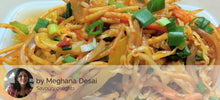 Egg Curry, Chapattis, Chinese Bhel, (Veg) Motichur Laddu -  - Homely - By Meghana Desai - 2