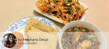 Egg Curry, Chapattis, Chinese Bhel, (Veg) Motichur Laddu -  - Homely - By Meghana Desai - 1