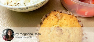 Maharashtrian style Chicken Dry, Chapatis, Jeera Rice, Chicken Rasa, Salad and eggless Banana Walnut Cupcake -  - Homely - By Meghana Desai - 3