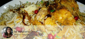 Chicken Biryani, Cucumber Dahi Raita and Eggless Banana Cake -  - Homely - By Meghana Desai - 1