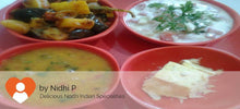 Baingan Aloo Masala, Ghee Roti, Dal fry, Rice, Curd, Salad with Surprise Dessert -  - Homely - By Nidhi P. - 2