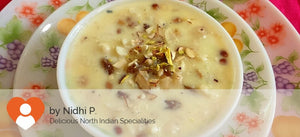 Desserts by Nidhi P. - Makhana Kheer with Dry Fruits - 250 gms - Homely - By Nidhi P. - 7