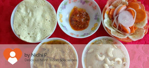 Kathal (Jackfruit) Curry with Parathas(5), Salad, Papad, Pickle and Rava Halwa -  - Homely - By Nidhi P. - 2