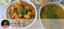 Aloo Shimla Mirch Paneer Mix Sabji with Dal Tadka, Rice, Roti and Boondi Raita -  - Homely - By Nitu Mishra - 3