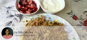 Fasting Rice (Kinni Rice) Pulav with Curd & Salad -  - Homely - By Nitu Mishra - 1