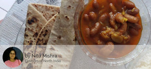 Rajma Roti with Rice and Curd -  - Homely - By Nitu Mishra - 1