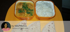 Pakoda Kadi with Rice & Roti -  - Homely - By Nitu Mishra - 2