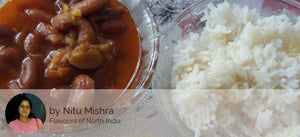 Rajma Roti with Rice and Curd -  - Homely - By Nitu Mishra - 2