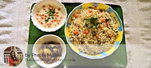 Carrot Green Peas Pulav, Raita, Pickle with Surprise Dessert -  - Homely - By Prachi Mishra - 1