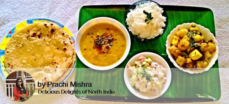 Mix Vegetable Sabzi, Dal tadka ,Rice , Raita , Butter Roti with Dessert -  - Homely - By Prachi Mishra